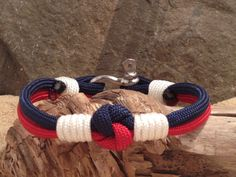Sailor's Love Knot Nautical Bracelet with Whipped by Paraspirit, $16.00