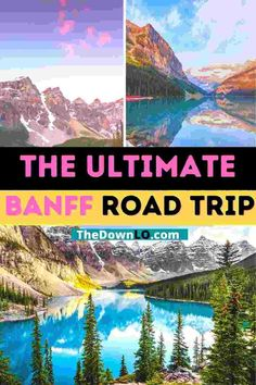 5 Day Banff Itinerary with map: A road trip through the Canadian Rockies for things to do this spring, summer or fall to see waterfalls, lakes, parks, and mountains. Drive from Calgary to Lake Louise, Lake Moraine, Jasper National Park, Johnston Canyon Cave, and of course, Banff National Park for things to do like glacier hiking, landscape photography, camping and hikes. Adventure pictures and photography spots to inspire travel. #roadtrip #canada #banff #travel #alberta #itinerary Road Trip Essentials, Road Trip Hacks, Road Trips, Canada Travel, Travel Usa, Travel Guides, Travel Tips, Places To Travel, Travel Destinations