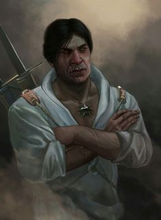 Ooh I looooove Eskel!! He'd make a good mate for Ciri IMO. Age aside... cuz he doesn't look nearly as old as Geralt