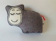 Check out this item in my Etsy shop https://www.etsy.com/uk/listing/197832172/grey-baby-sleepy-hippo-soft-toy