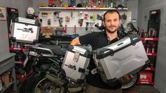 SW Motech Panniers for R1200GS. Better than the originals? VIDEO