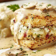 Stuffed Chicken Marsala (no breadcrumbs)
