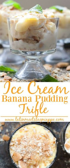This Ice Cream Banana Pudding Trifle is so simple to make - and it's DELICIOUS! #AD #MayfieldFamily @walmart