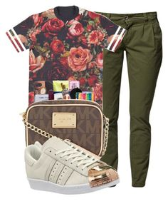 """""""Untitled #79"""" by mira-alsina ❤ liked on Polyvore featuring adidas"""