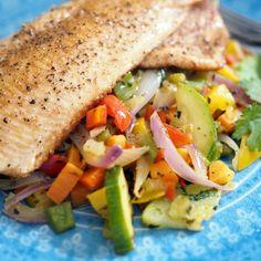 Helppo kasvislisäke (Kulinaari) Deli, Takana, Side Dishes, Sandwiches, Bbq, Vegetarian, Food, Red Peppers, Barbecue