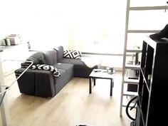 € 575,  Groningen, prachtige studio met vide te huur