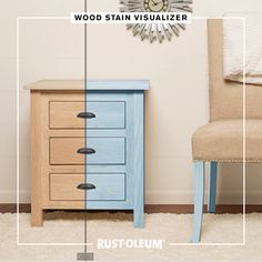Make sure you're going with the grain on your next DIY project by using the Varathane Visualizer Tool to find the perfect wood stain color. Don't leave anything to chance when you're deciding on how to transform wooden decor in your home. No need to knock Painted Furniture, Diy Furniture, Woodworking Enthusiasts, Pioneer Woman Kitchen, Knock On Wood, Wood Stain Colors, Into The Woods, Floating Shelves Diy, Wooden Decor
