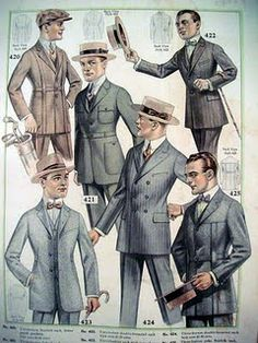 Never mind the Roaring Twenties, I think a more suitable name for it is the Dapper Twenties!