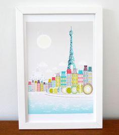 Paris. via Etsy.