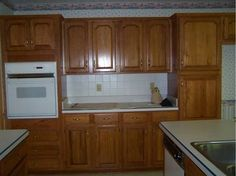 Dated 90s Kitchen Before - Farmhouse - cleveland - by Devine Designs