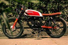 Motocicleta Única Estilo Clásico Cafe Racer. Islo Honda ... - Año Otros Tipos - 10 km - en MercadoLibre