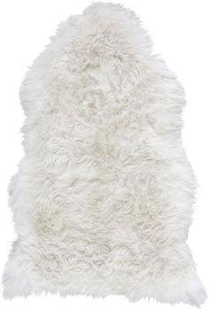 Besonders flauschiges Langhaar-Schaffell. Dieses weiße Echthaarfell wertet Ihren Wohnraum optisch auf und ist zusätzlich superweich und kuschelig - optimal an kalten Wintertagen als Bettvorleger, Teppich oder im Lieblingssessel.