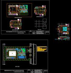 Engineering  et Architecture: Plan dwg Centre culturel