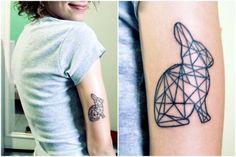bunny tatoo