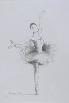 Original pencil drawing 12 x 8 on white paper of ballerina by ewa gawlik--strength for a little girl's room Art Painting, Ballerina Sketch, Art Drawings, Drawings, Dance Art, Dancing Drawings, Drawing Images, Art, Ballet Drawings