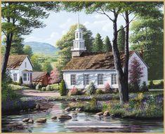 Lang April 2014: Country Churches