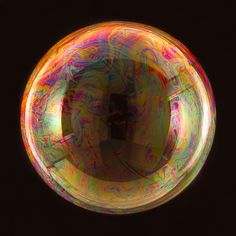 Berlin based photographer Bjoern Ewers made simple, but a beautiful series Orbital, consisting of pictures of soap bubbles.