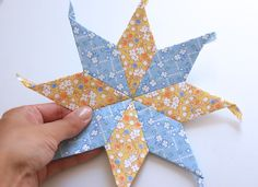 MessyJesse - a quilt blog by Jessie Fincham: English Paper Piecing Basics: Week 3 // Diamonds; Tutorial & Tips