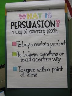 Persuasive writing strategies! Useful when you are first introducing what persuasive writing is and what it can be used for. It's another writing strategy for students to gain knowledge of.