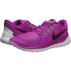 Nike Free 5.0 (Fuchsia Flash/Pink Pow/Hot Lava/Black) Women's