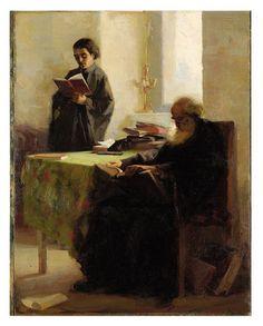 Γεραλής Απόστολος- Ιερέας αναγιγνώσκων, 1917