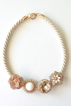 Life is Beautiful: DIY: Anthropologie marjorelle necklace take 2