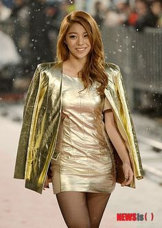 Ailee. She didn't need to lose any weight, she looked gorgous here...