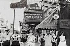 <b>Mother Jones: <i>Robert Frank's Photos of America Still Feel As Poignant As They Did 60 Years Ago</i></b><br> Main Street, Savannah, Georgia,