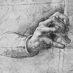 Leonardo da Vinci, Study of Hand