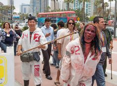 Zombie On A Leash Has Gotten Wind of Me, via Flickr.