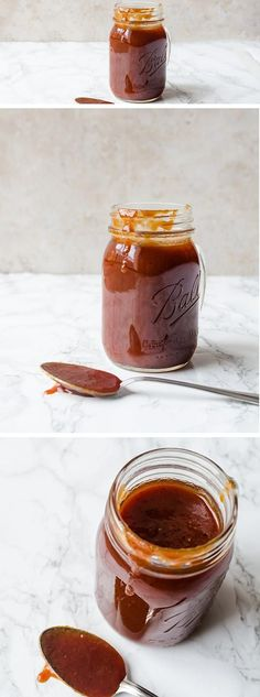 A sweet and tangy HOMEMADE BARBECUE SAUCE you will want to drink by the gallon. Perfect for dips, marinades, grilling, and just about everything else.