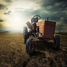 Most of our farm equipment looked like that. How many miles did you walk behind the old Allis Chalmers, picking rocks in the dusty fields? And remember when Dad made me drive when I was only 8 years old and I almost drove into the slough? Saved by the Brothers again!
