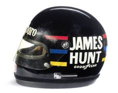 James Hunts 1976 Bell Helmet