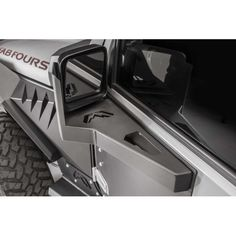 The Fab Fours' Front Door Skin Mirror Guards offer unparalleled protection matched with aggressive styling. As part of the all new Fab Fours' Armor System you can trust that your Jeep JK will be protected from the harshest off road conditions. Accessoires De Jeep Wrangler, Accessoires 4x4, Jeep Wrangler Accessories, Jeep Accessories, Offroad Accessories, Jeep Wrangler Jk, Jeep Wrangler Unlimited Rubicon, Jeep Wrangler Interior, Truck Mods