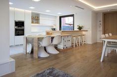 cocina barra mesa para comedor cocinas visitar contemporanea abierta salon