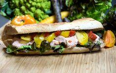 Le sandwich Fermier de Charles Leriche #sandwich #fermier #streetfood #foodtruck #cuisine #gastronomie #charlesleriche charles-leriche.com
