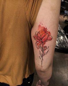 unique Body - Tattoo's - Fire flower by Felipe Rodrigues Fe Rod