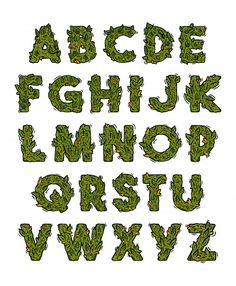 Weed Humor, Letras Cool, Alphabet Design, Cool Fonts, Fun Fonts, Typography Letters, Lettering Design, Alphabet