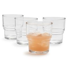 Duralex Bistro Glasses, Set of 4, available at #surlatable
