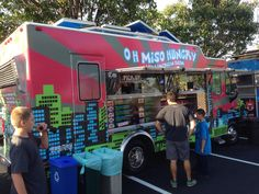 Oh Mi So Hungry food truck. Asian fusion comfort food.