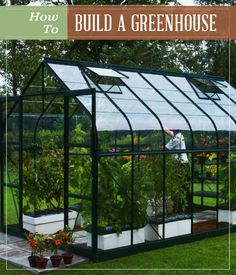 How To Build A Greenhouse | With step-by-step pictures and easy instructions to follow! #pioneersettler #greenhousediy