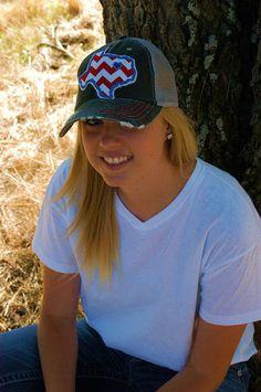 Texas Rangers State Baseball Bling Ladies Womens Trucker Hat via Etsy