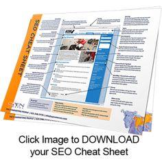 Downloadable SEO Cheat Sheet - The SEO Law According to Google. #seo #google #poweredbyom