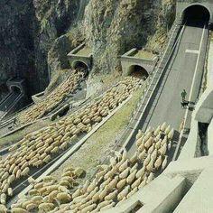 Passo San Boldo en Italia