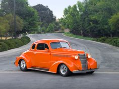 1938 chevy coupe...why can't they build cars like this anymore?