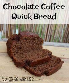 Chocolate & Coffee combine to make this easy & delicious mocha quick bread!