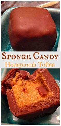 Honeycomb Toffee - Candy - Ideas of Candy - Sponge Candy: Honeycomb Toffee Candy is also known by various names around the world such as Sponge Candy Hokey pokey puff candy cinder toffee sponge toffee or candy molasses puffs fairy candy and sea foam. Honeycomb Candy, Honeycomb Recipe, Candy Recipes, Holiday Recipes, Dessert Recipes, Holiday Ideas, Christmas Ideas, Sea Foam Candy, Toffee Candy
