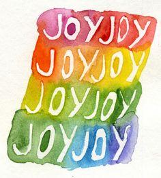 nothing but joy