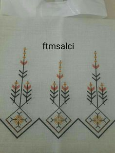 This Pin was discovered by Yur Folk Embroidery, Silk Ribbon Embroidery, Cross Stitch Embroidery, Embroidery Patterns, Cross Stitch Patterns, Cross Stitch Gallery, Palestinian Embroidery, Bargello, Needlework
