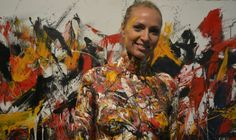 Terry #Matuszkova, sexy body #painting.